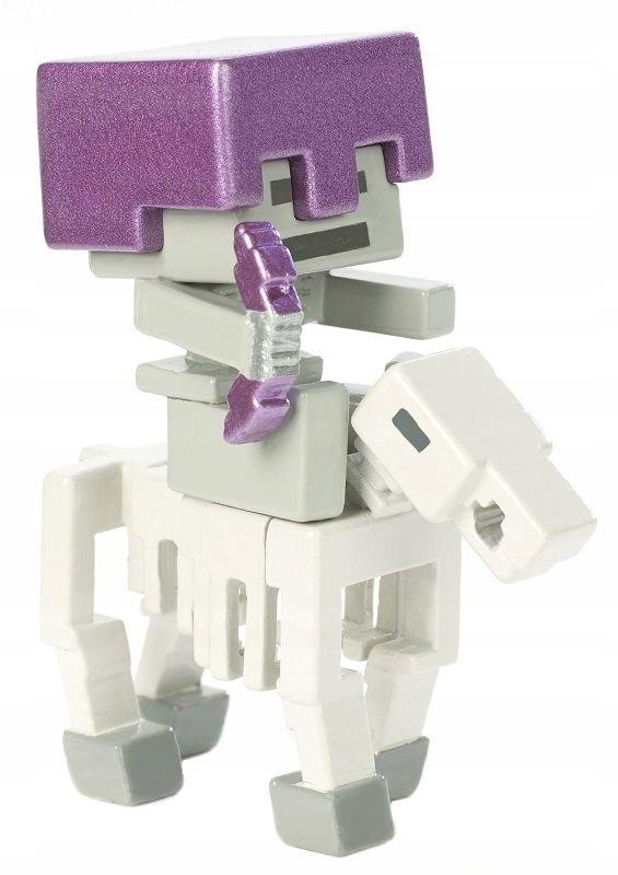 Minecraft Szkielet na koniu Figurka FVH08 FVH12