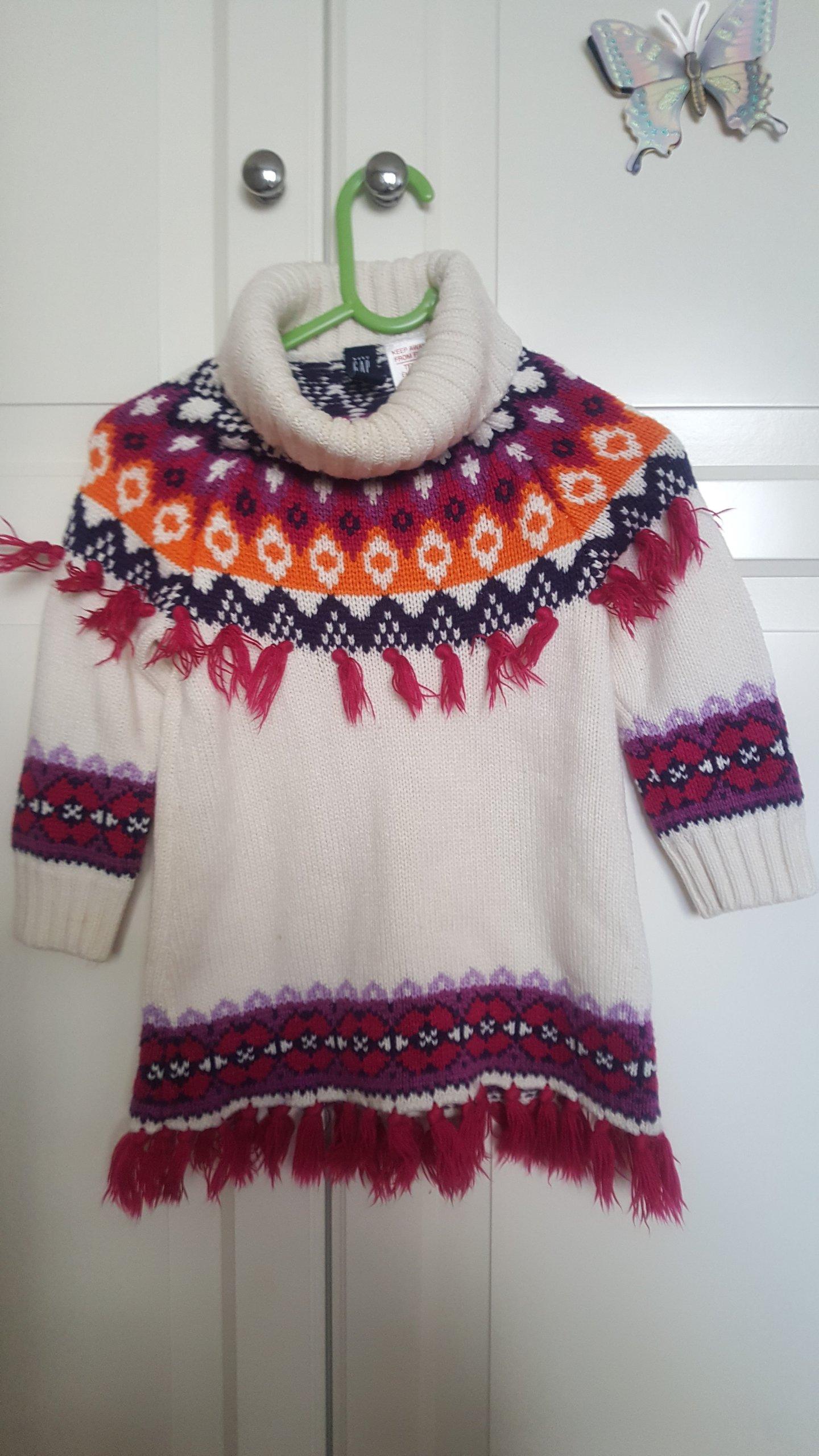 Szafa Sofi: 2 sukienki (GAP, TBT): 92-98 cm