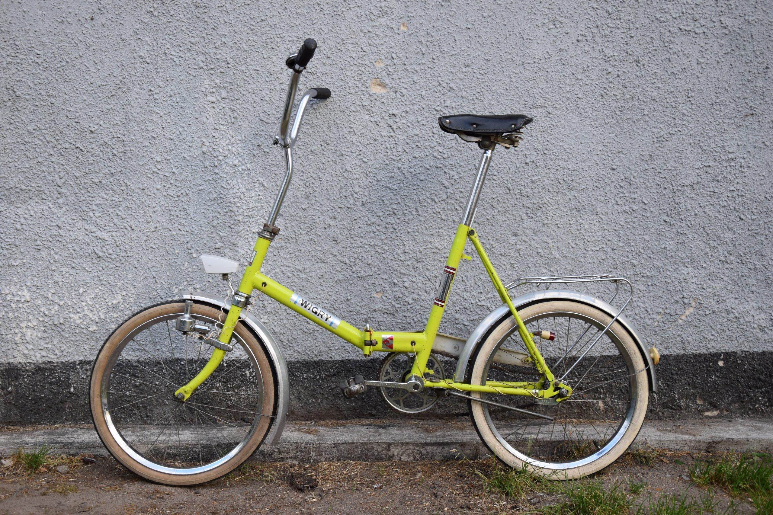 Znalezione obrazy dla zapytania rower składak