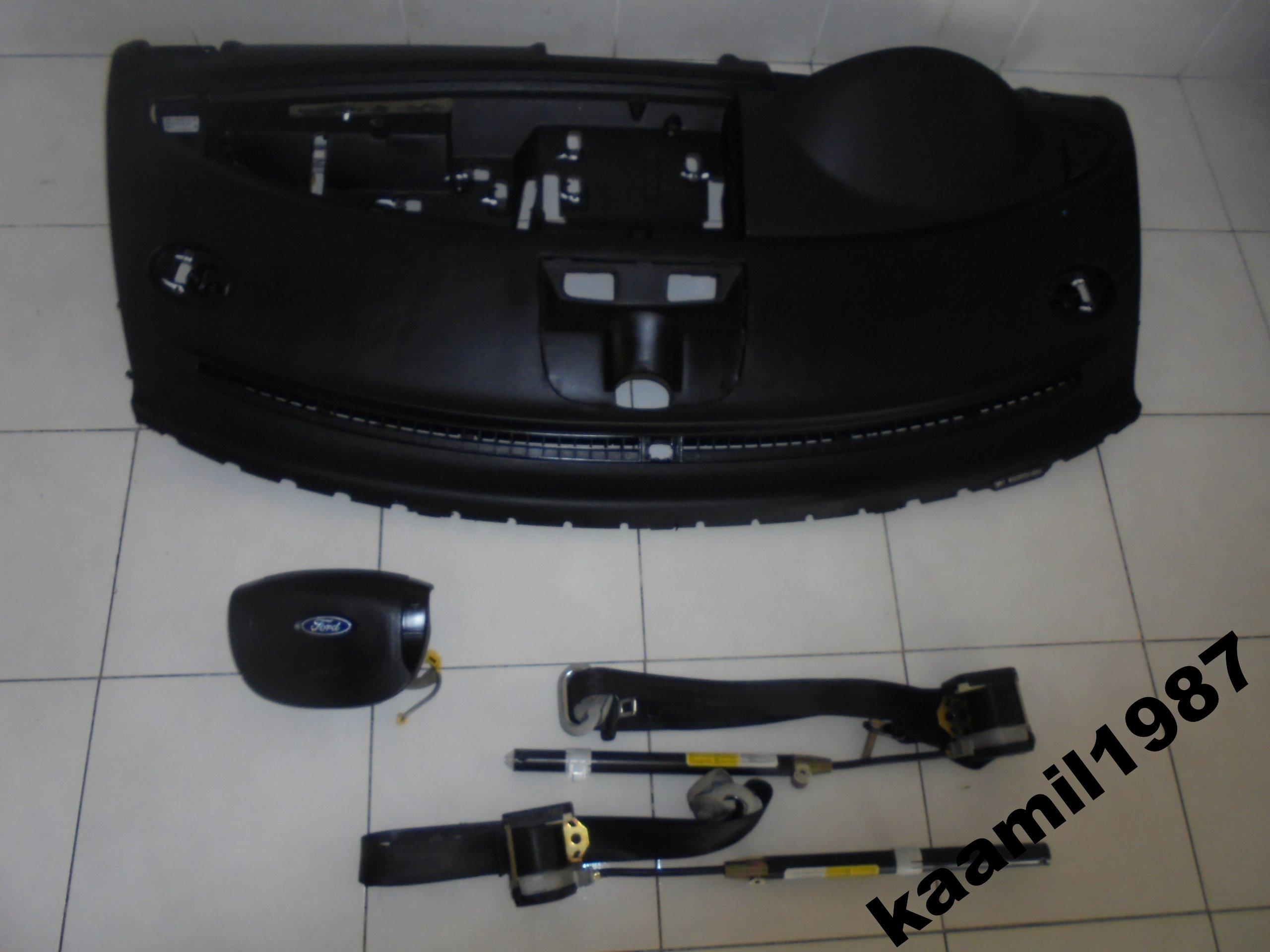 Wijewo Galaxy Mk2 Konsola Airbag Pasy Komplet 6410760638