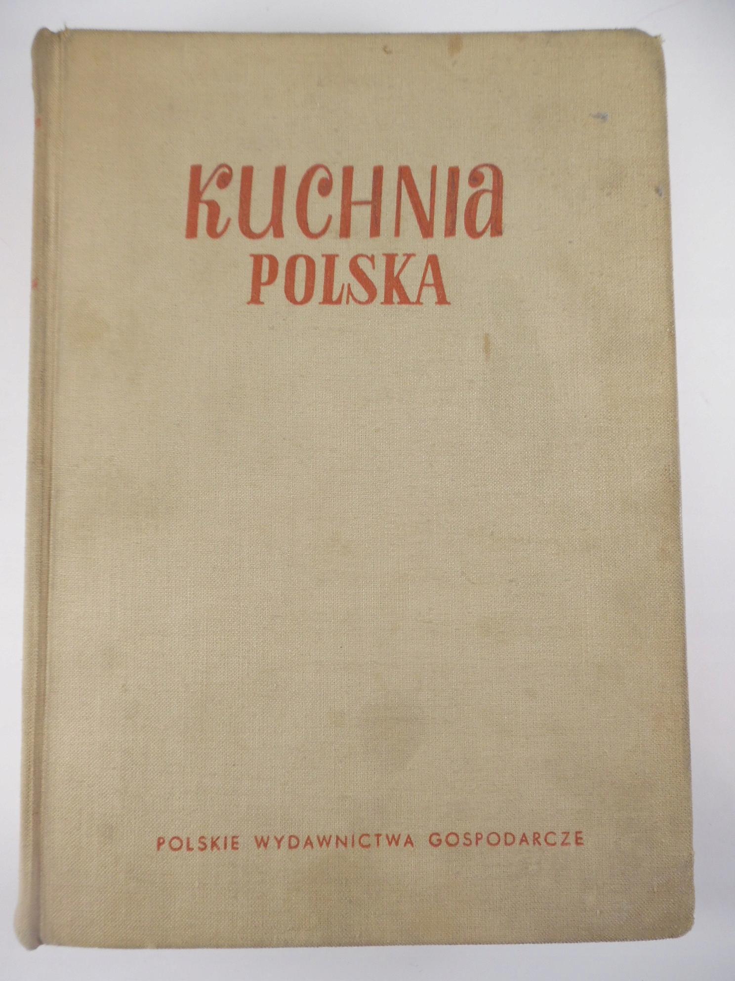 Kuchnia Polska Berger Stara Książka Kucharska