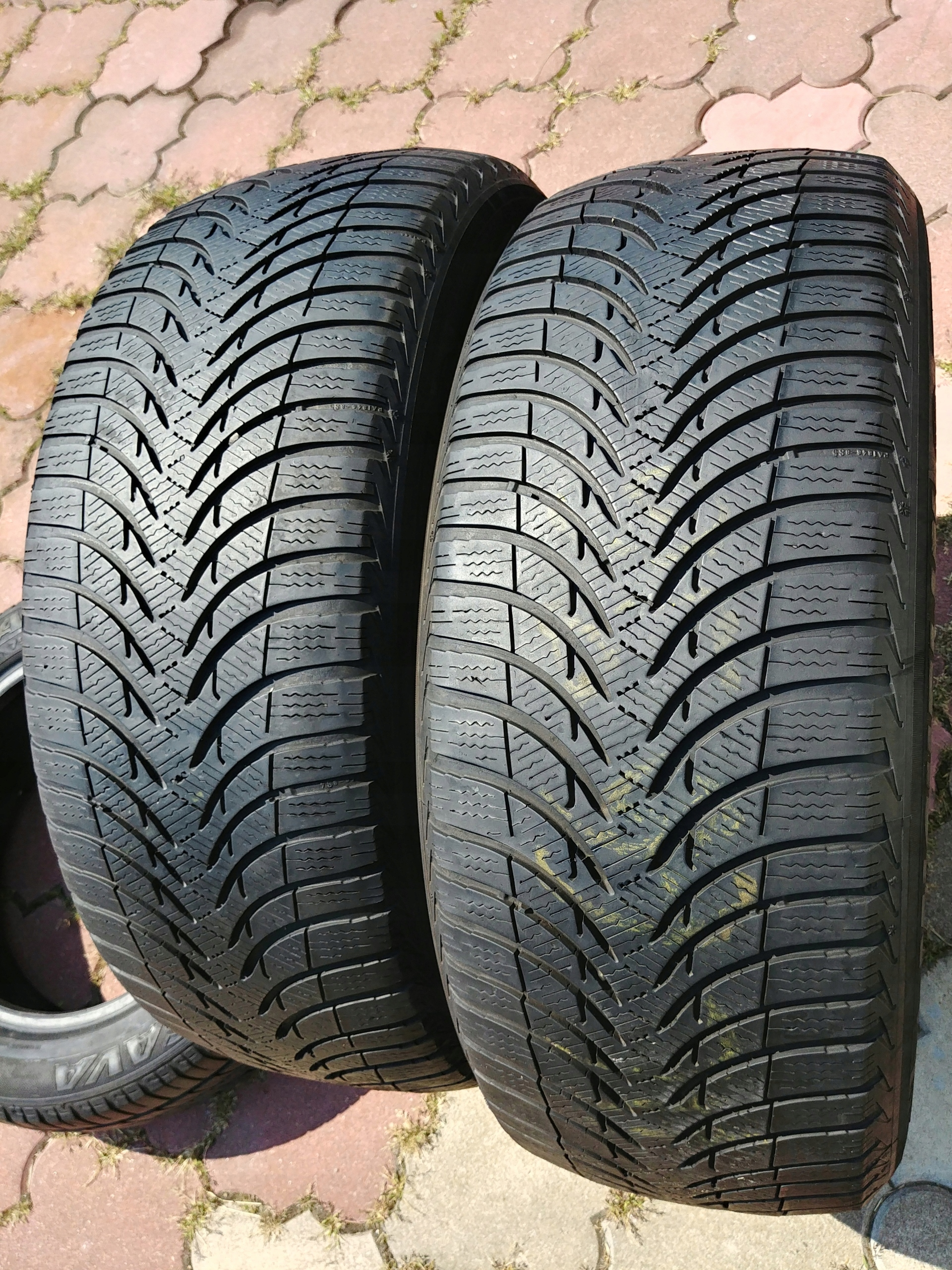 Opony Zima 2255017 Michelin Alpin A4 Cena Za 2 7448312177