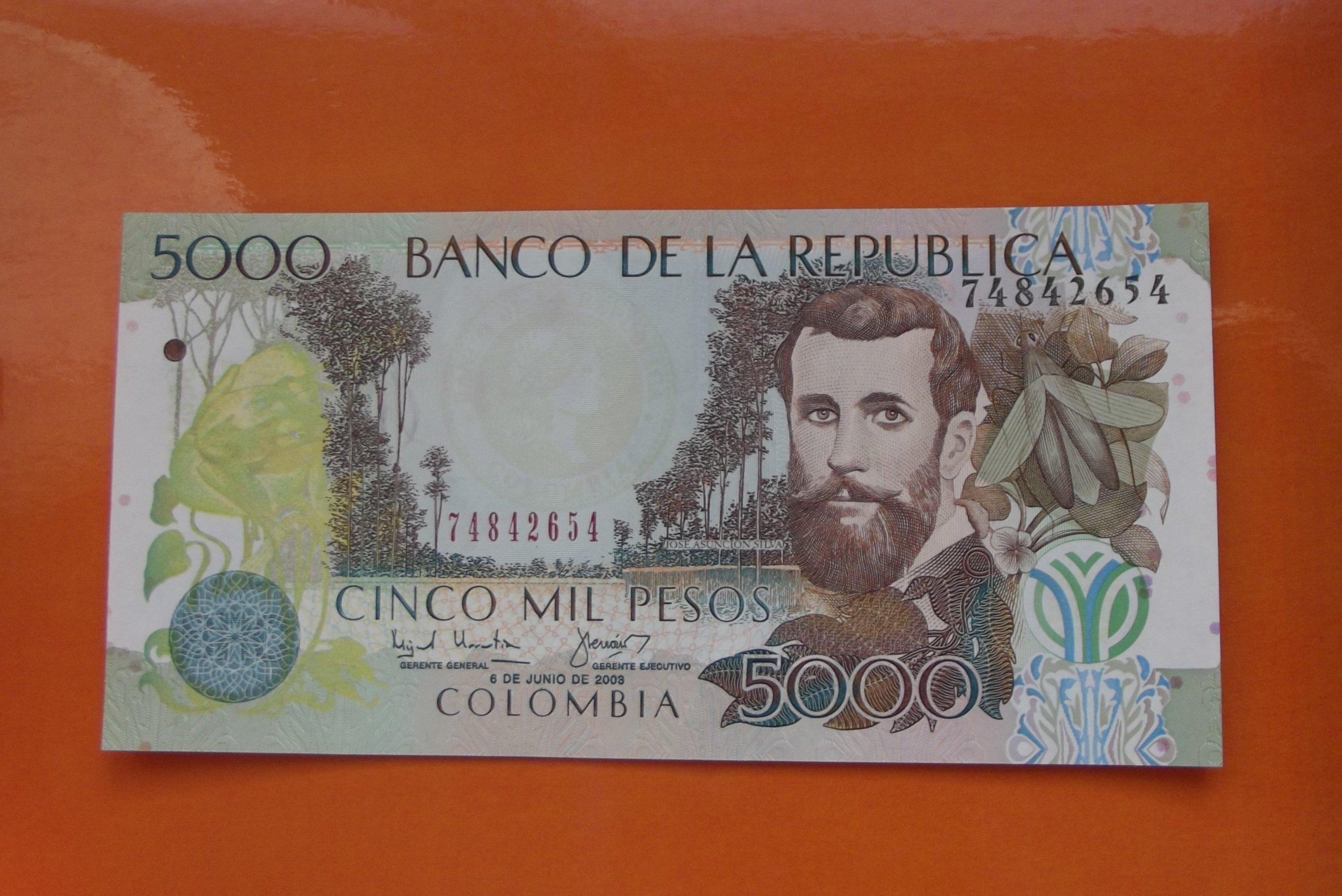 COLUMBIA 5000 PESOS 2003