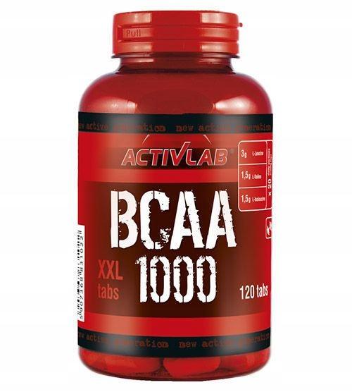 ACTIVLAB BCAA 1000 XXL 120 kaps AMINOKWASY