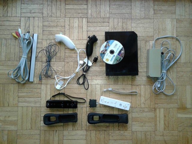 Konsola Nintendo Wii - kompletny zestaw