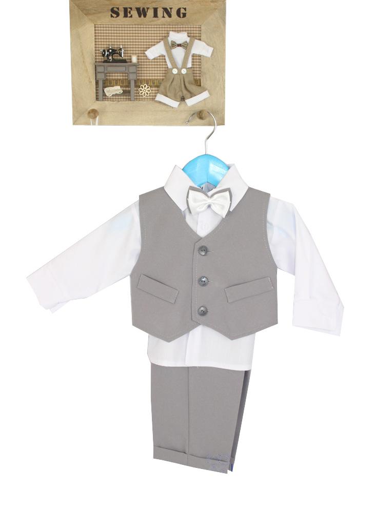 d6d281d2663cc3 Elegancki komplet garniturowy dla chłopca r. 80 - 6966866524 ...