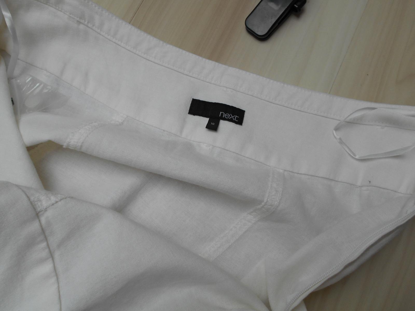 9e76c4baa8 NEXT Spódnica lniana len do kostek maxi M -60% - 7405194566 ...