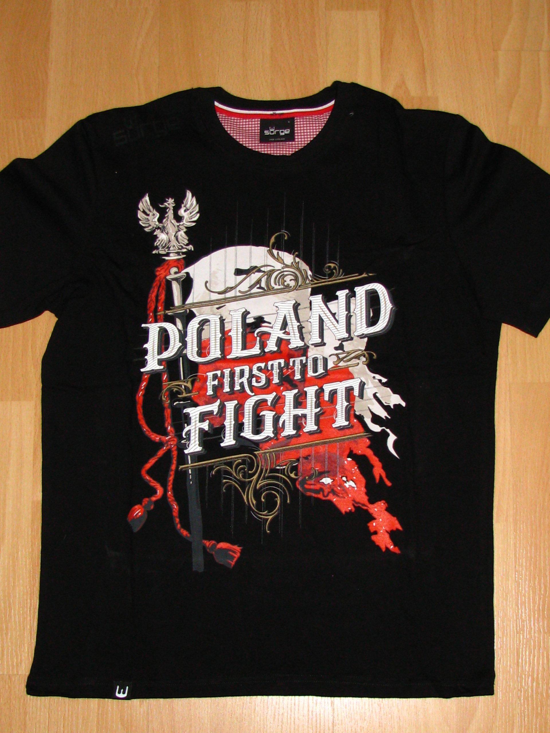 81d70eaba koszulka męska SURGE POLONIA patriotyczna S - 7055917483 - oficjalne ...
