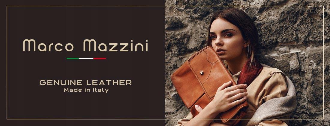 2809775189a0e Marco Mazzini elegancka skórzana torebka z włoch - 7438720069 ...