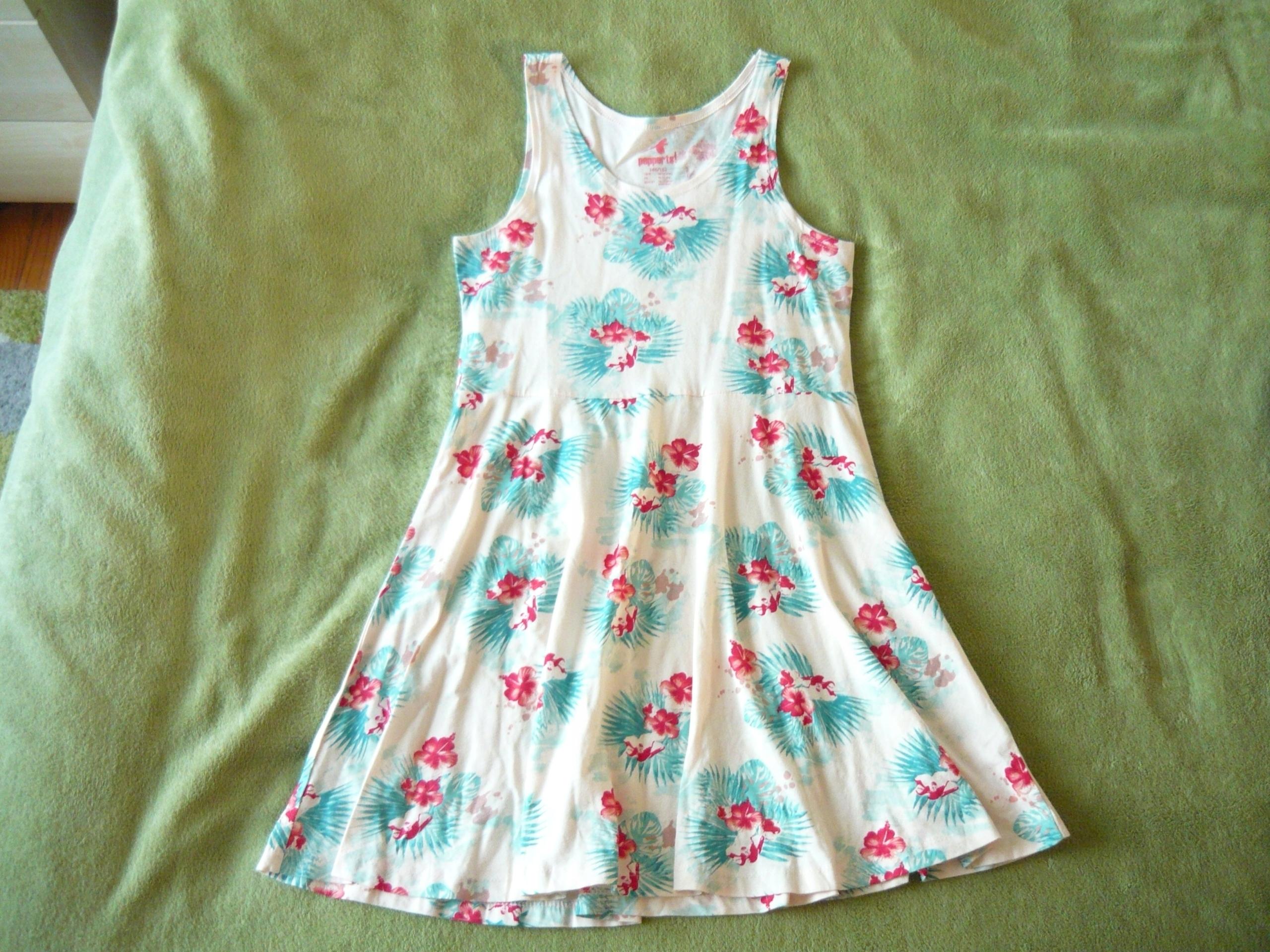 PEPPERTS roz. 146 sukienka dżersej bawełniany 7545775786
