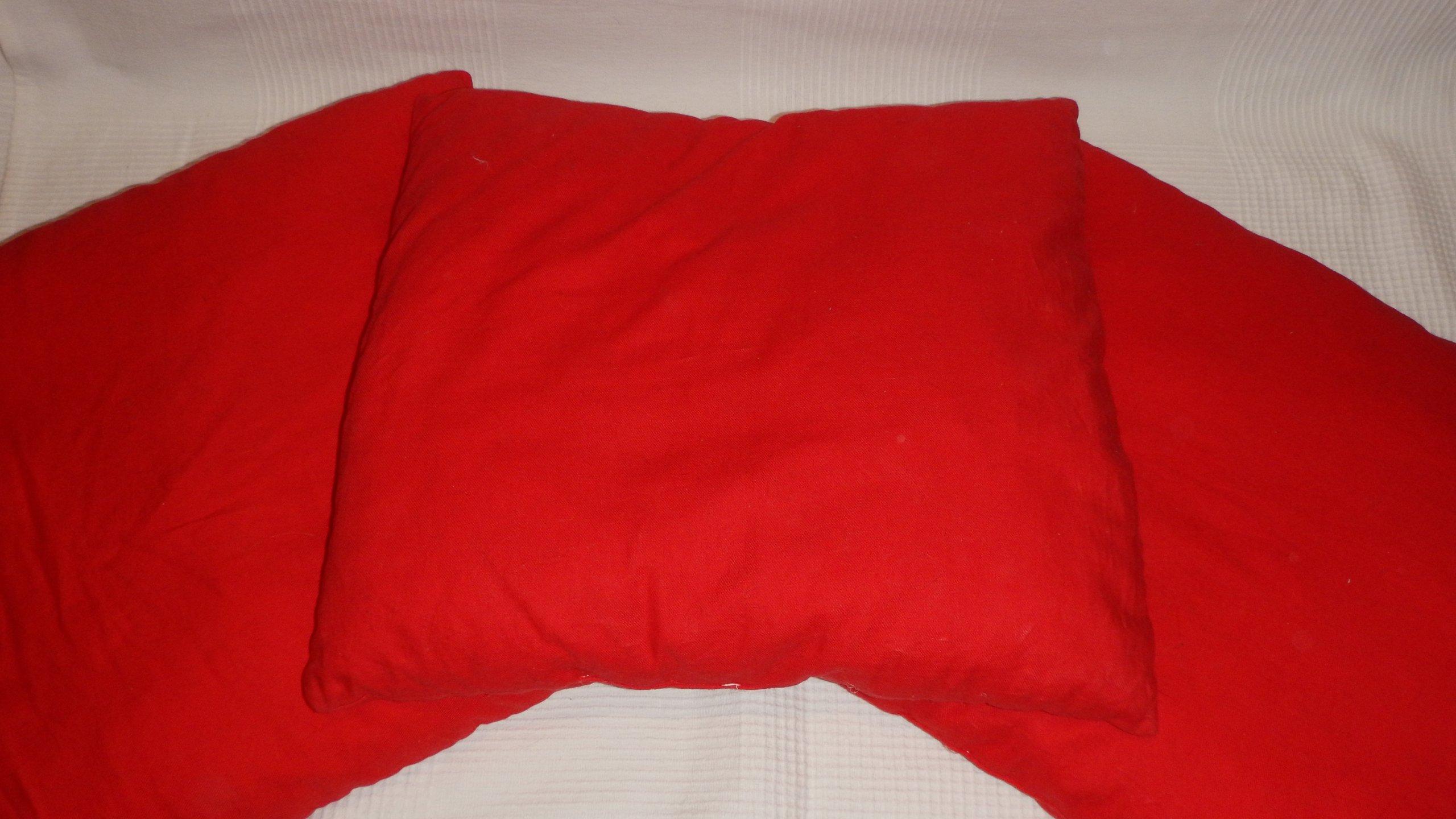 Poduszki Dekoracyjne Czerwone 50 X 50 3 Szt 7241105213