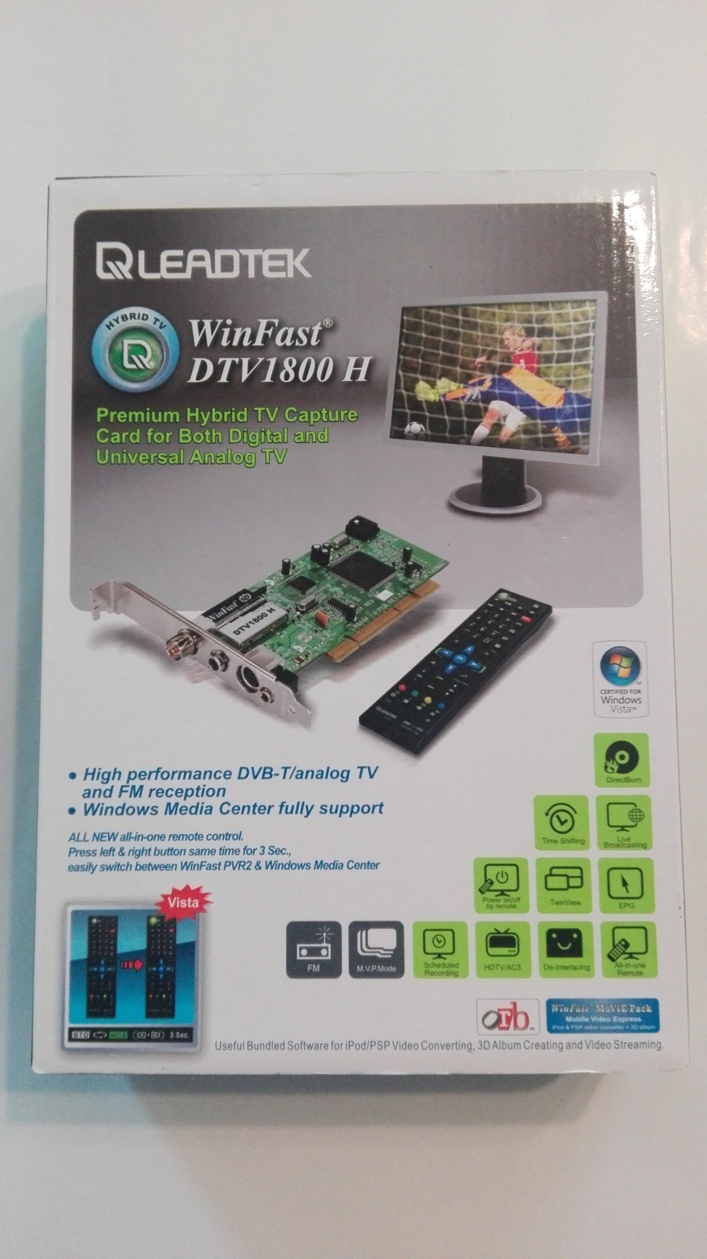 Winfast Dtv 1800h Karta Tv Do Komputera 7104238166 Oficjalne