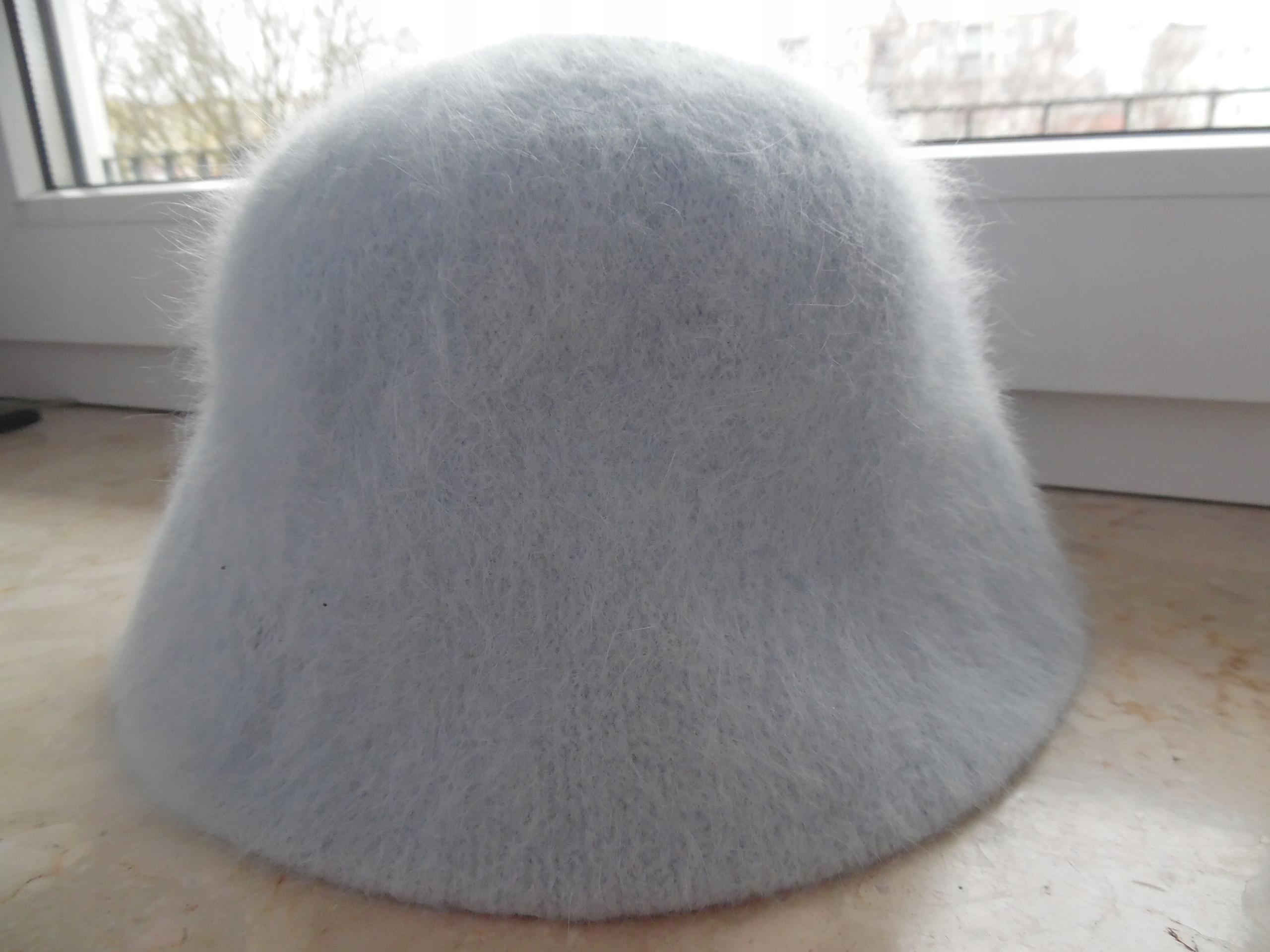 REWELACYJNY kapelusz czapka DUNNES STORES błekit