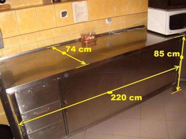 Zaawansowane Sprzedam meble gastronomiczne ze stali nierdzewnej - 7187266584 WP68