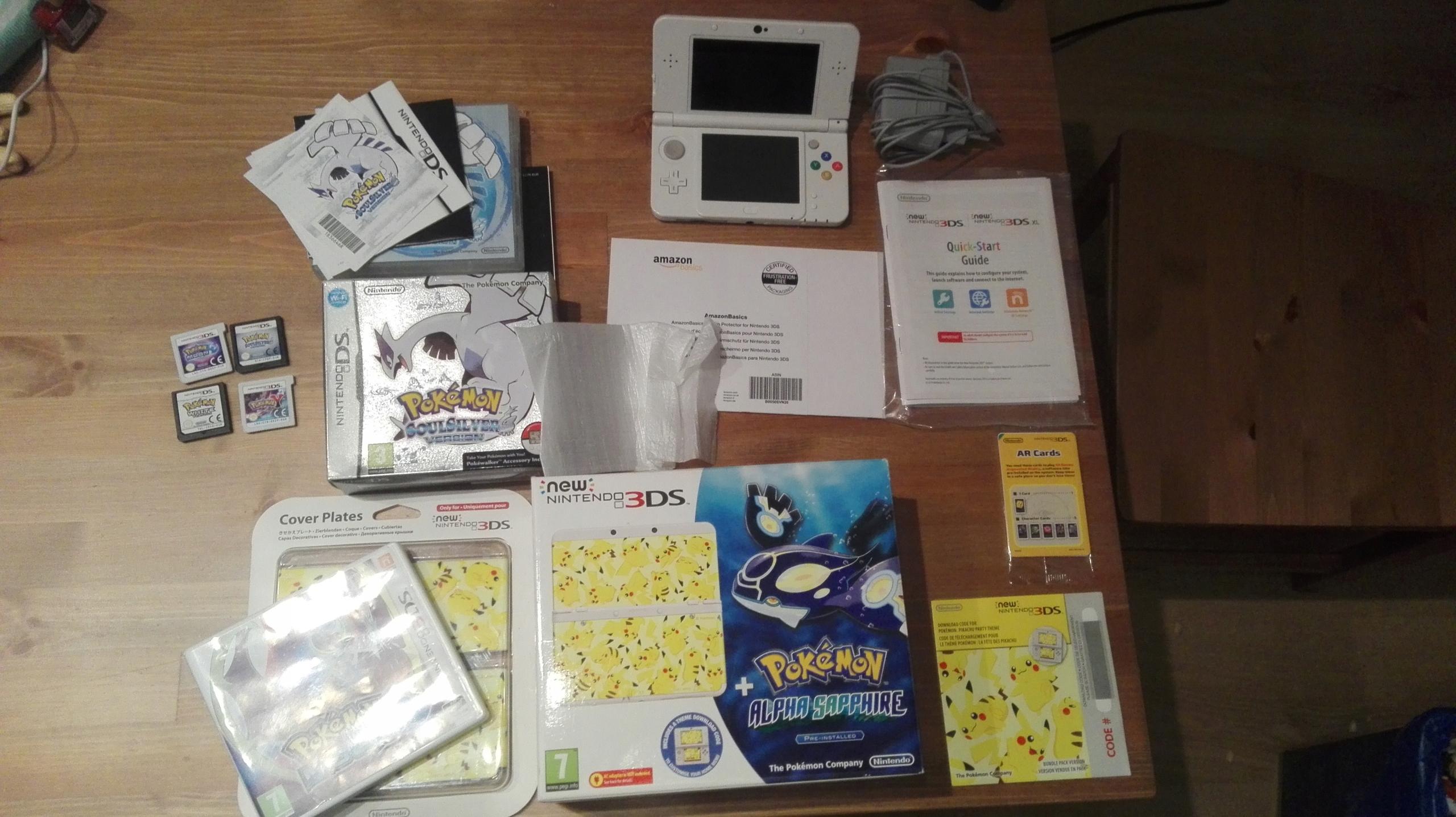LIMITOWANE 'New Nintendo 3DS' + 5 GIER POKEMON