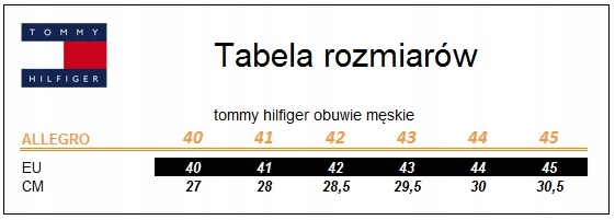 Inne rodzaje Buty trampki Tommy Hilfiger Royal 3C1909 r.45 D - 7361338537 BO14