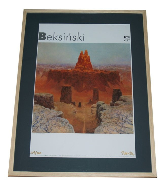 Zdzisław Beksiński Plakat Sygodręcznie Nr 107200