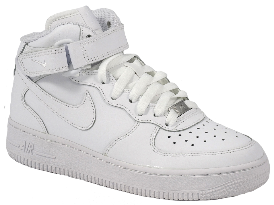 reputable site 57d77 b39c7 NIKE BUTY DAMSKIE AIR FORCE 1 MID 314195 113 40 - 7137476726 ...