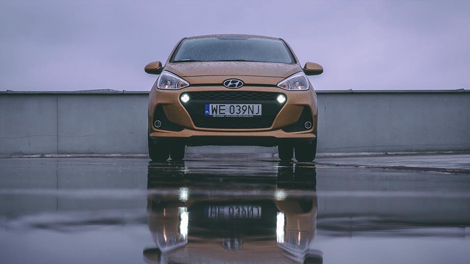 Hyundai i10 – test samochodu