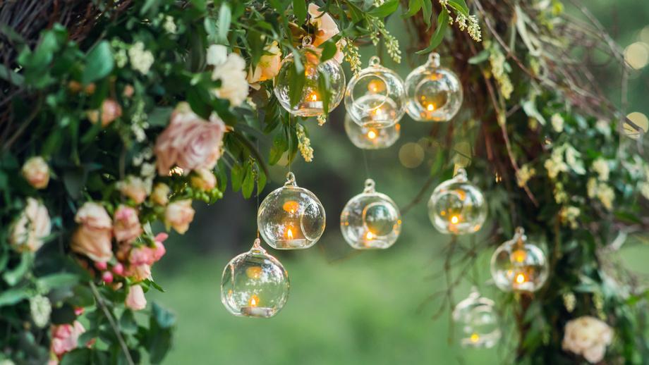 Oświetlenie Ogródka W Romantycznym Stylu Allegropl