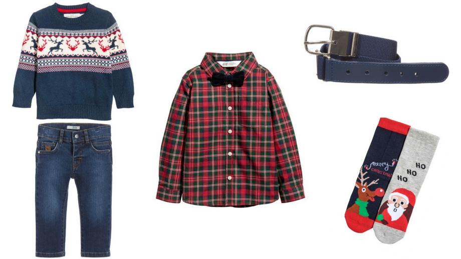 47942d11d7 Ubrania z motywem świątecznym – pomysły na stylizacje dla chłopca ...