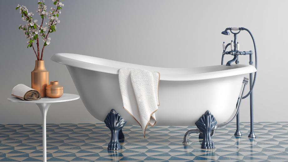 Aranżacja łazienki W Stylu Retro Allegropl