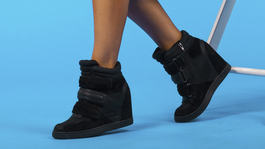 Sneakersy Na Koturnach Hit Czy Kit Allegro Pl
