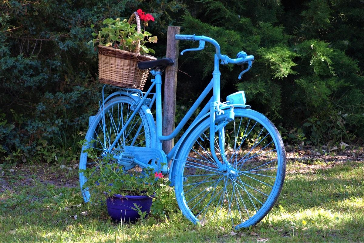 záhrada pre bicykle