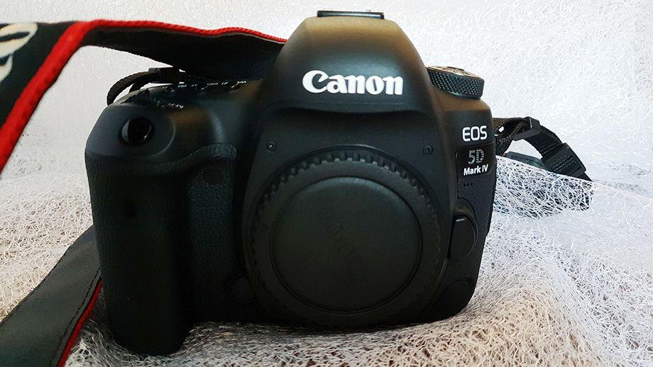 Test pełnoklatkowej lustrzanki Canon EOS 5D Mark IV