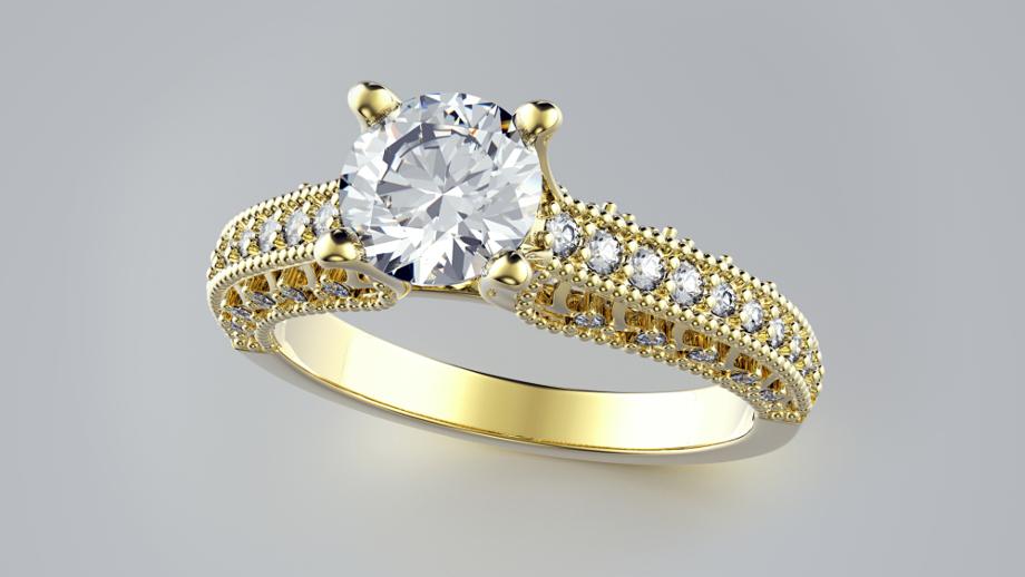 Pierścionki Zaręczynowe Z żółtego Złota Jaki Wybrać Allegropl