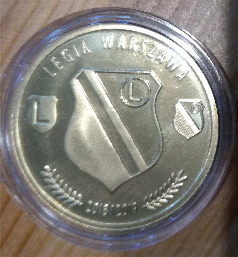 Numizmat Moneta 1918 2018 Legia Warszawa 7462860421 Oficjalne Archiwum Allegro