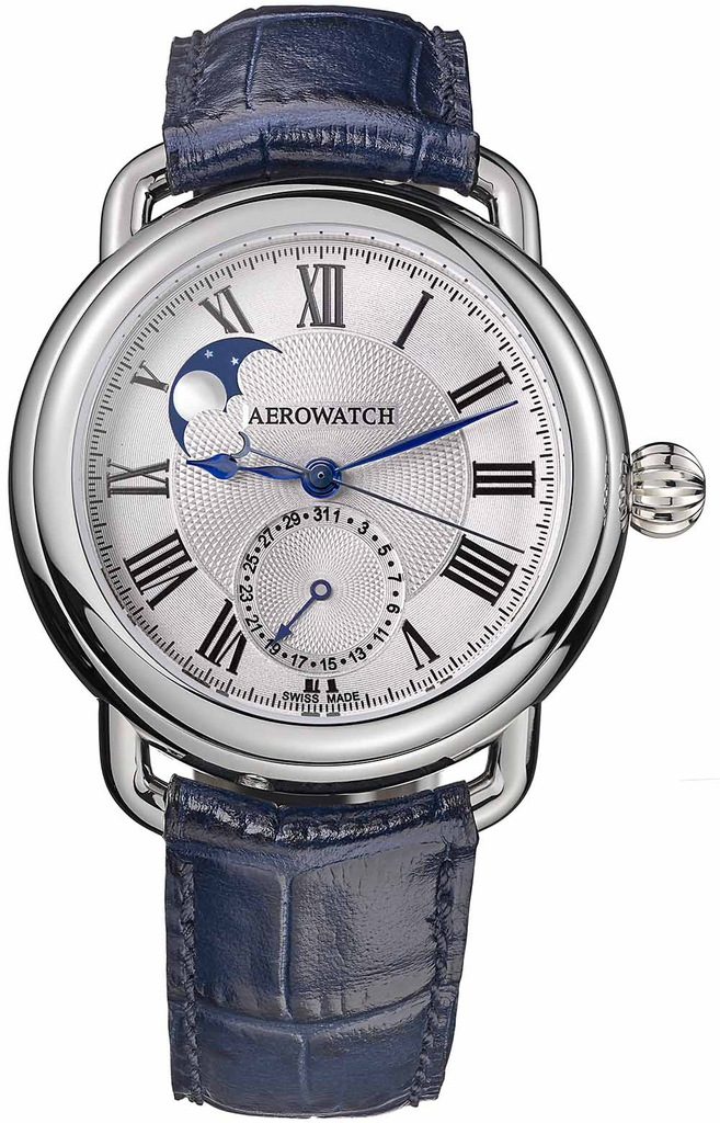 Aerowatch 1942 Moon Phases Automatic 74969 AA01