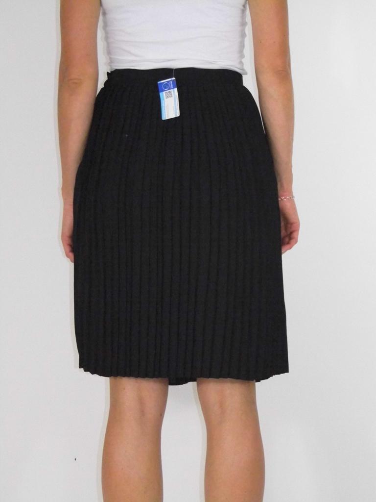 BLACK&WHITE Spódnica Plisowana