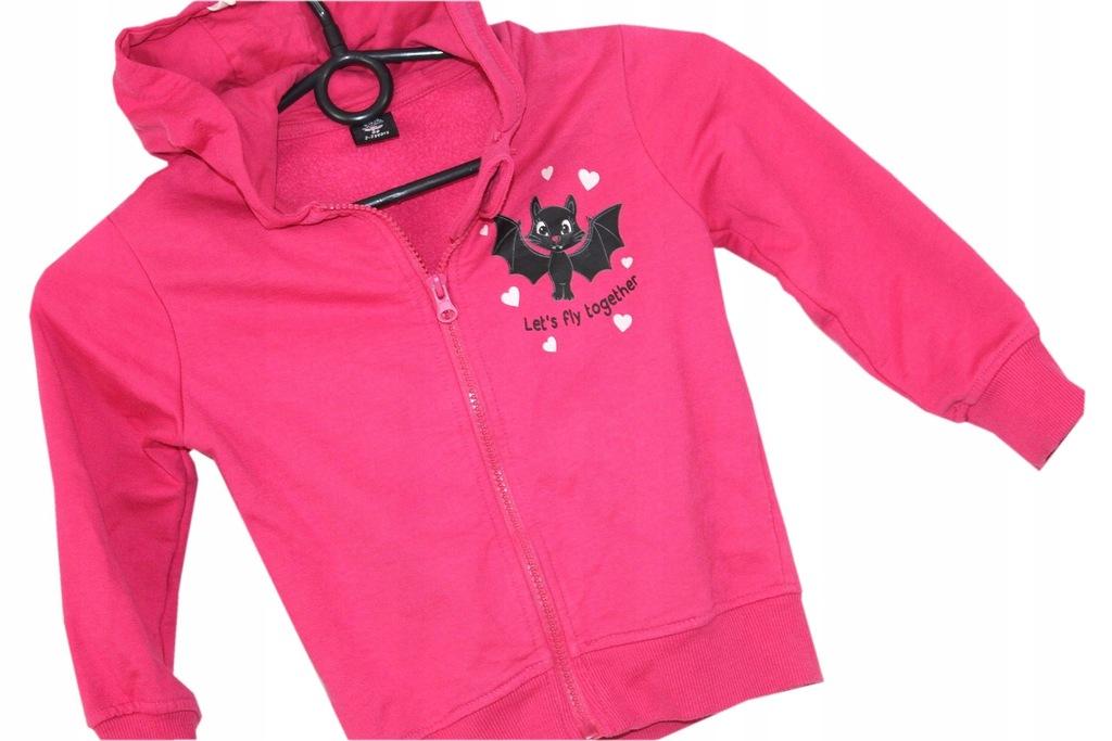 bluza z kapturem dziewczęca asymetryczna allegro