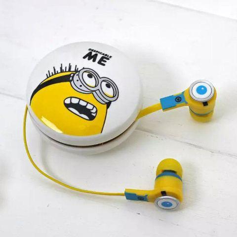 Słuchawki DOUSZNE Samsung Minionki MINI JACK 3,5