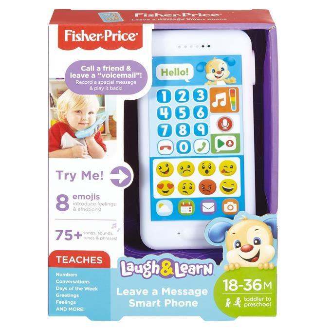 Fisher Price Ucz się i śmiej Uczący smartfonik Szc