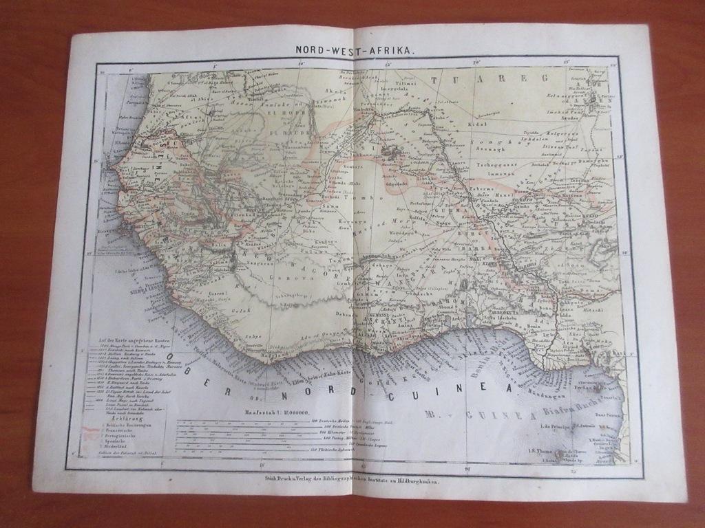 SAHARA SENEGAL DAHOMEJ GWINEA  1867 ROK