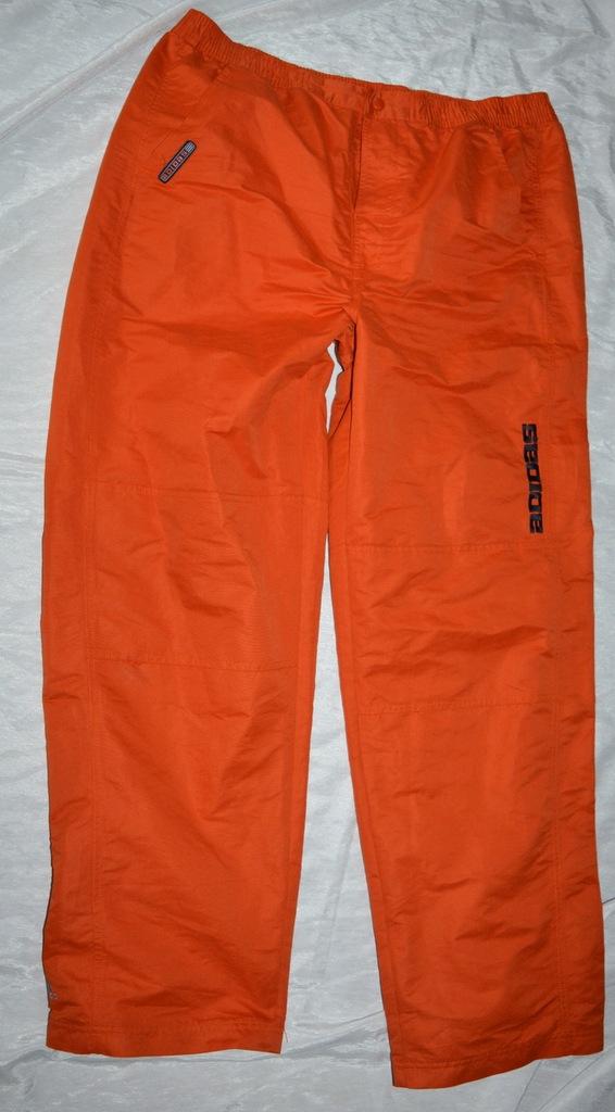 Ortalionowe spodnie od deszczu Adidas XL