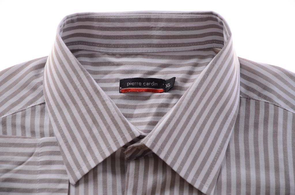 PIERRE CARDIN koszula krótki rękaw prążek XL k 42