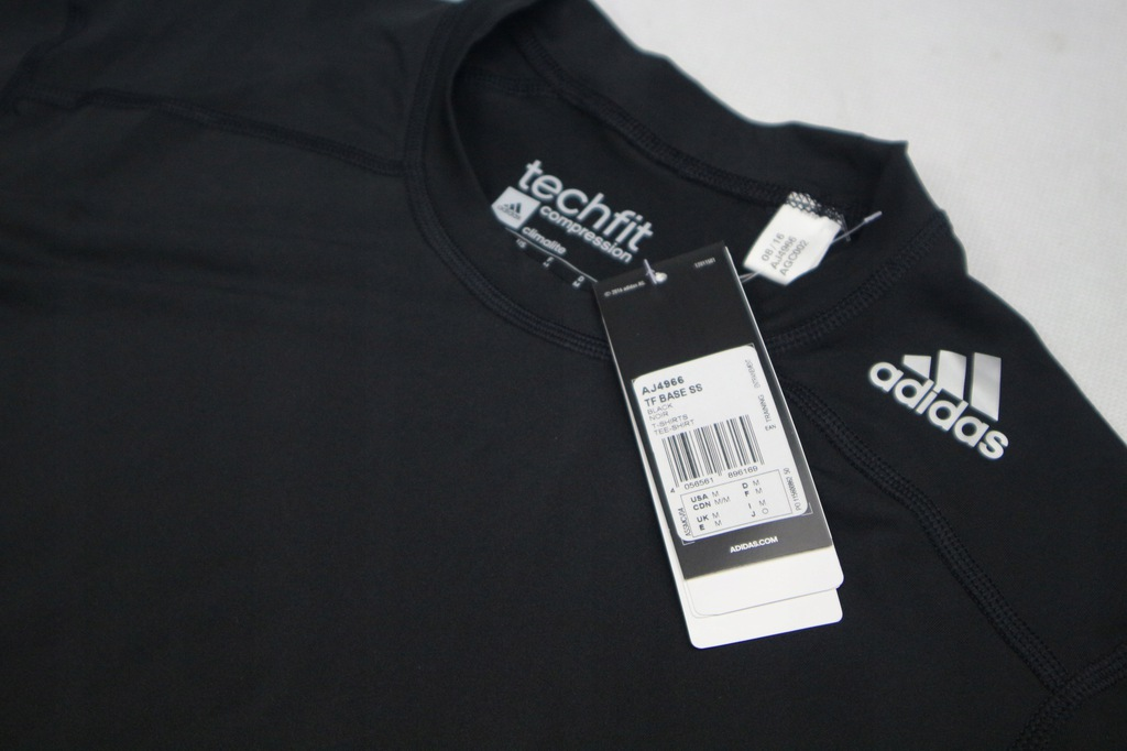 Adidas Techfit Compression koszulka treningowa M