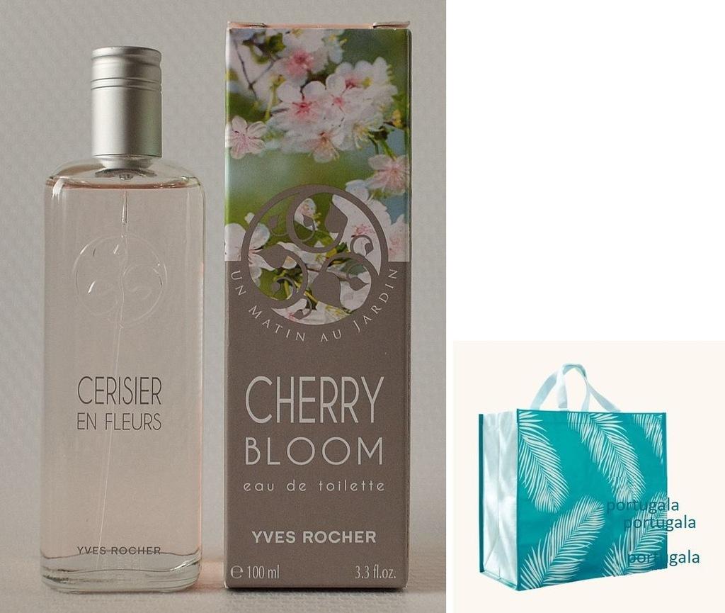 Yves Rocher KWIAT WIŚNI Cerisier en Fleurs +torba