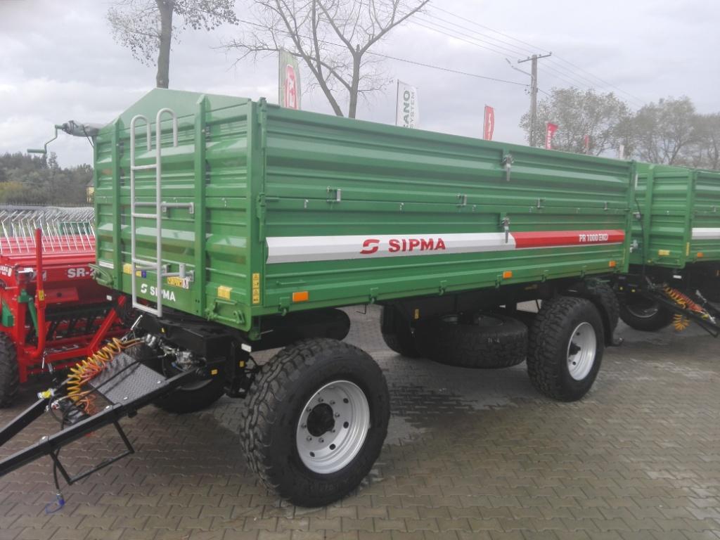 Przyczepa Rolnicza Sipma Pr1000 Eko 10ton Paletowa 6911824740 Oficjalne Archiwum Allegro