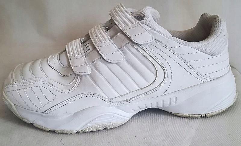 Buty damskie sportowe ADIDAS 40 białe na rzepy
