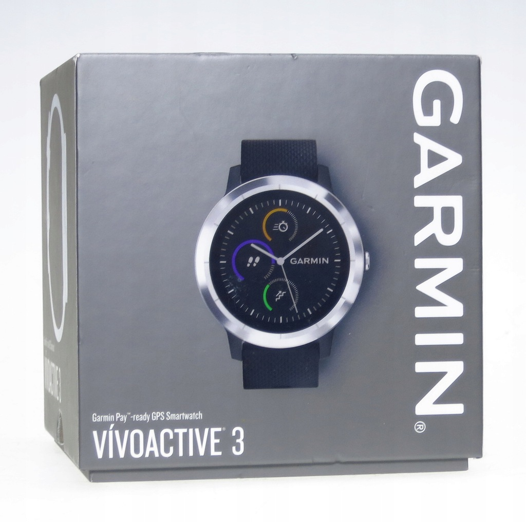 Zegarek GPS Garmin Vivoactive 3 Czujnik tętna