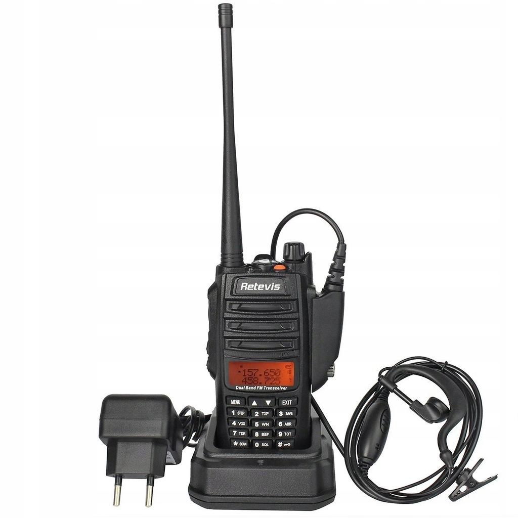 Radiotelefon RETEVIS RT6 do 3km VHF + UHF (P)