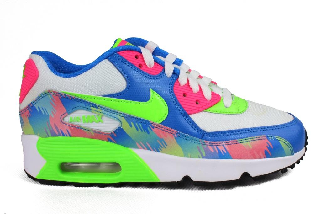 Buty Nike Air Max 90 Print Mesh GS rozm. 38 7089204601