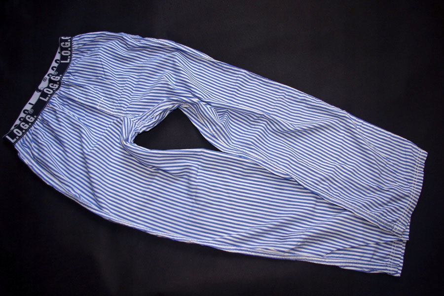 H&M*spodnie DO spania PIŻAMA paski*170