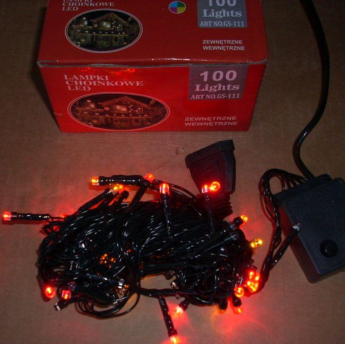 lampy choinkowe led stroboskop
