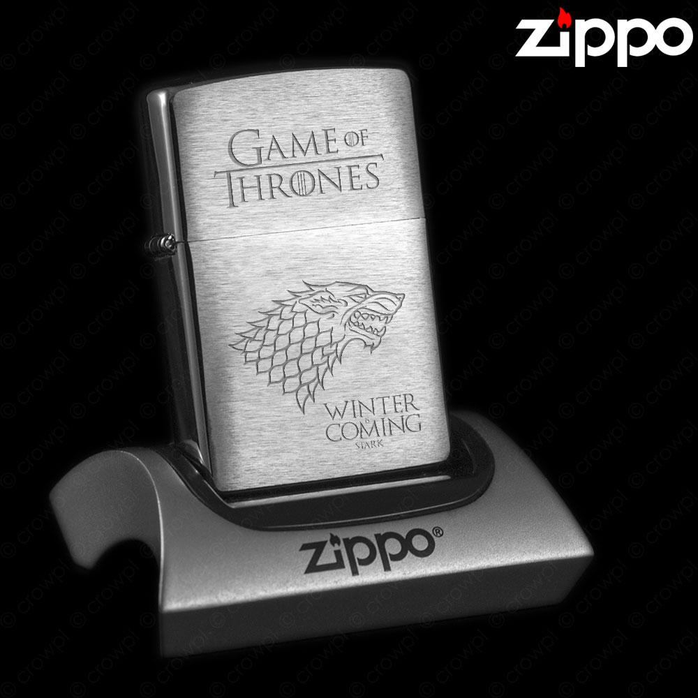 Zippo Game Of Thrones Stark Winter Is Coming 7385186684