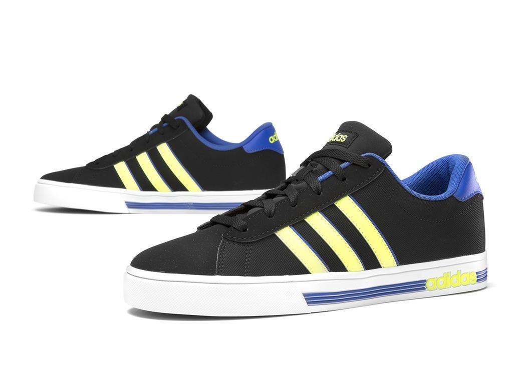 buty męskie adidas neo daily team f38528 czarne rozmiar 41